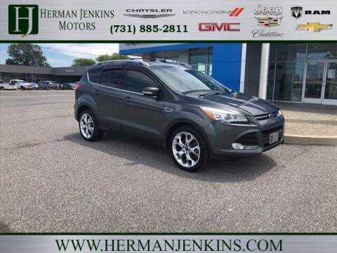 2016 Ford Escape for sale at Herman Jenkins Used Cars in Union City TN
