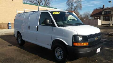 2012 Chevrolet Express Cargo for sale at Magana Auto Sales Inc in Aurora IL