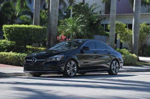 2018 Mercedes-Benz CLA for sale at EURO STABLE in Miami FL