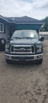 2015 Ford F-150 for sale at MGM Auto Sales in Cortland NY