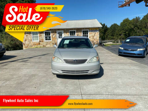 2002 Toyota Camry for sale at Flywheel Auto Sales Inc in Woodstock GA