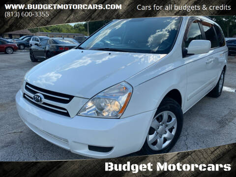 2006 Kia Sedona for sale at Budget Motorcars in Tampa FL