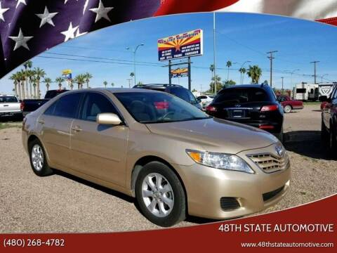 2011 Toyota Camry for sale at 48TH STATE AUTOMOTIVE in Mesa AZ