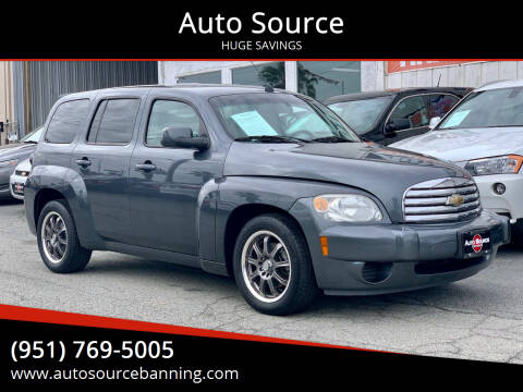 2011 Chevrolet HHR for sale at Auto Source in Banning CA