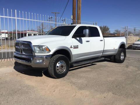 2016 RAM Ram Pickup 3500 for sale at Hugo Motors INC in El Paso TX