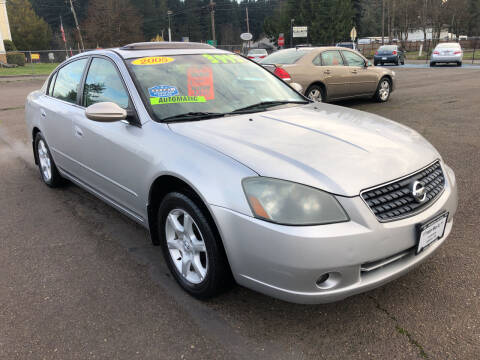 2005 Nissan Altima for sale at Freeborn Motors in Lafayette, OR