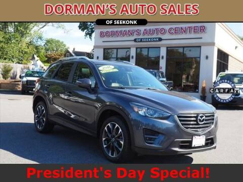 2016 Mazda CX-5 for sale at DORMANS AUTO CENTER OF SEEKONK in Seekonk MA