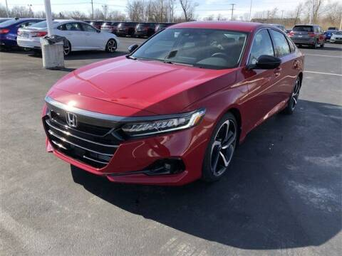 2021 Honda Accord for sale at White's Honda Toyota of Lima in Lima OH