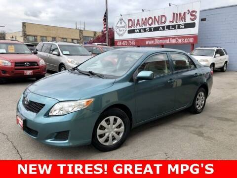 2009 Toyota Corolla for sale at Diamond Jim's West Allis in West Allis WI