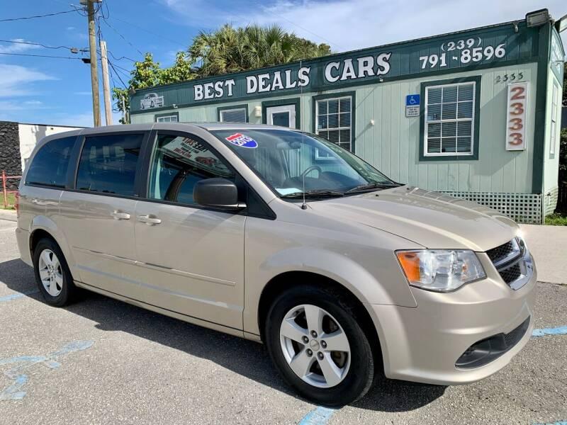 2013 Dodge Grand Caravan for sale at Best Deals Cars Inc in Fort Myers FL