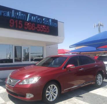 2010 Lexus ES 350 for sale at Franklin Auto Sales in El Paso TX