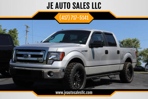 2014 Ford F-150 for sale at JE AUTO SALES LLC in Webb City MO