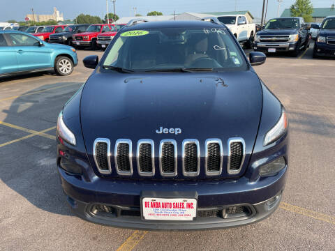 2016 Jeep Cherokee for sale at De Anda Auto Sales in South Sioux City NE
