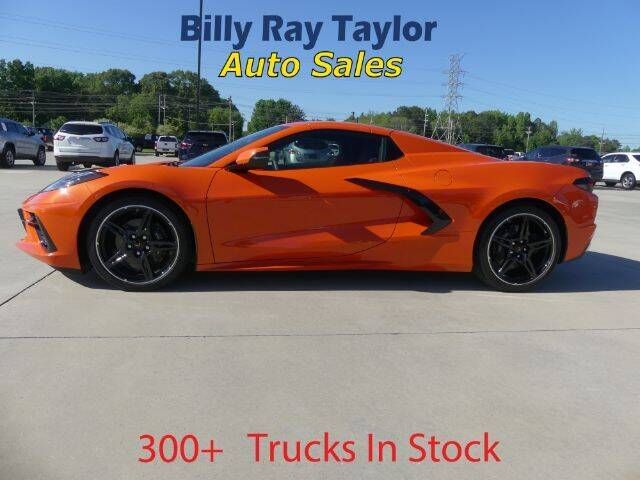 2021 Chevrolet Corvette for sale at Billy Ray Taylor Auto Sales in Cullman AL