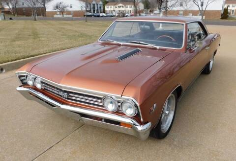1967 Chevrolet Chevelle for sale at WEST PORT AUTO CENTER INC in Fenton MO