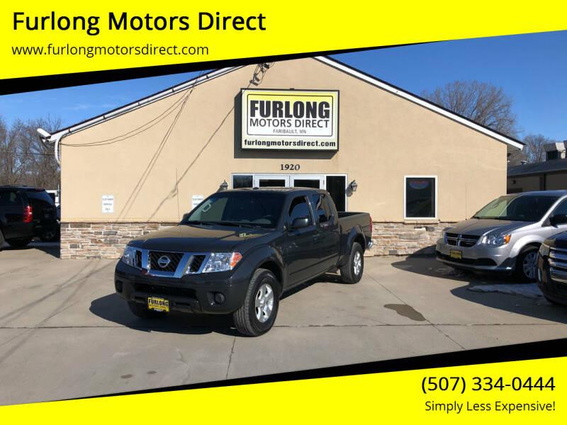 2013 Nissan Frontier for sale at Furlong Motors Direct in Faribault MN