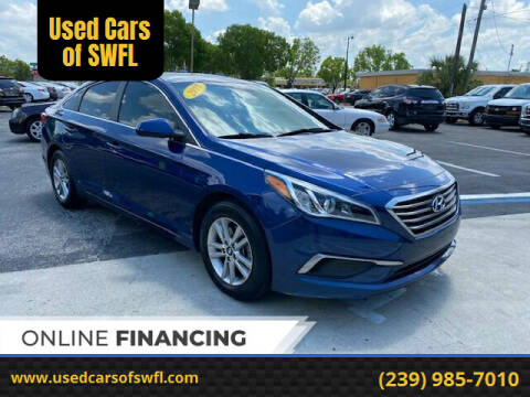 2017 Hyundai Sonata for sale at Used Cars of SWFL in Fort Myers FL
