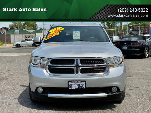 2013 Dodge Durango for sale at Stark Auto Sales in Modesto CA