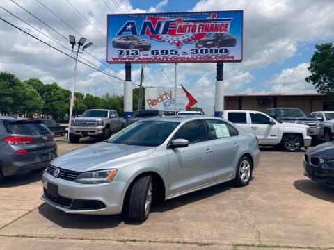 2014 Volkswagen Jetta for sale at ANF AUTO FINANCE in Houston TX