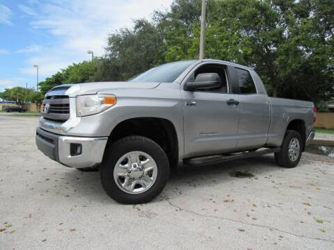 2015 Toyota Tundra for sale at Easy Deal Auto Brokers in Hollywood FL
