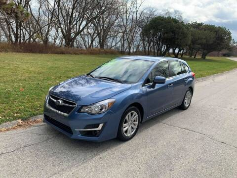 2015 Subaru Impreza for sale at Aleid Auto Sales in Cudahy WI