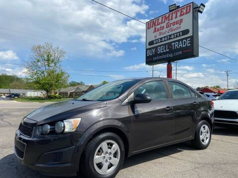 2014 Chevrolet Sonic for sale at Unlimited Auto Group in West Chester OH