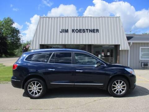 2017 Buick Enclave for sale at JIM KOESTNER INC in Plainwell MI