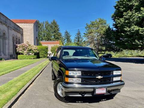 1999 Chevrolet Tahoe for sale at EZ Deals Auto in Seattle WA
