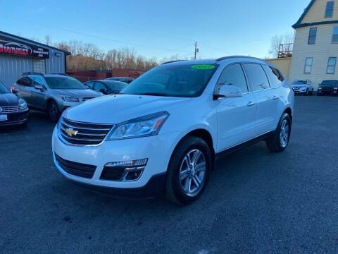 2017 Chevrolet Traverse for sale at Sisson Pre-Owned in Uniontown PA