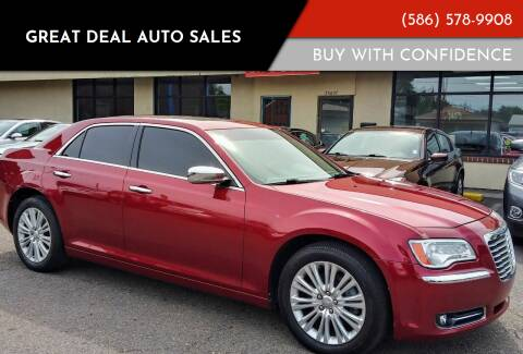 2013 Chrysler 300 for sale at GREAT DEAL AUTO SALES in Center Line MI