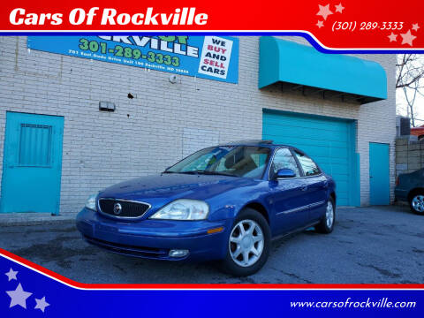 2003 Mercury Sable for sale at Cars Of Rockville in Rockville MD