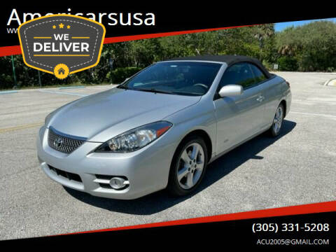 2007 Toyota Camry Solara for sale at Americarsusa in Hollywood FL