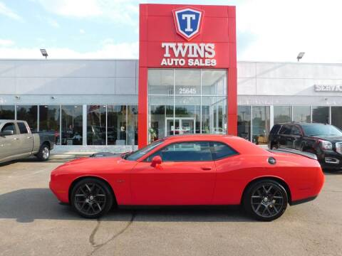2016 Dodge Challenger for sale at Twins Auto Sales Inc Redford 1 in Redford MI