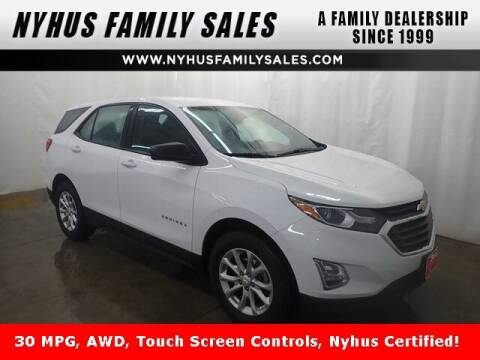 2018 Chevrolet Equinox for sale at Nyhus Family Sales in Perham MN
