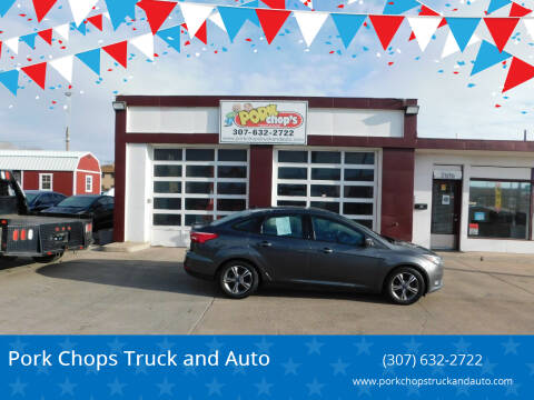 2018 Ford Focus for sale at Pork Chops Truck and Auto in Cheyenne WY