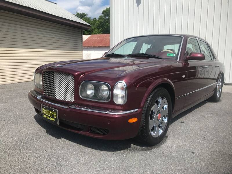 2000 Bentley Arnage for sale at Bobbys Used Cars in Charles Town WV