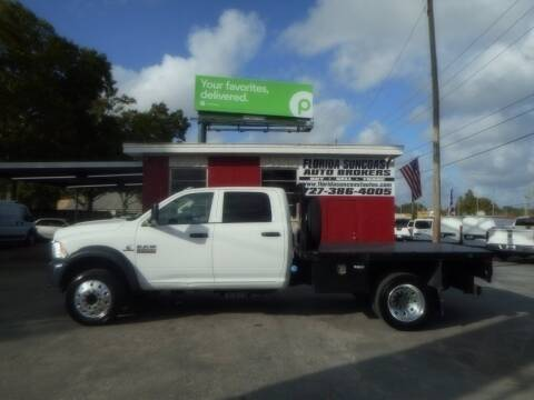2018 RAM Ram Chassis 5500 for sale at Florida Suncoast Auto Brokers in Palm Harbor FL