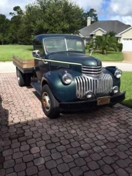 1946 Chevrolet Silverado 3500 for sale at Classic Car Deals in Cadillac MI