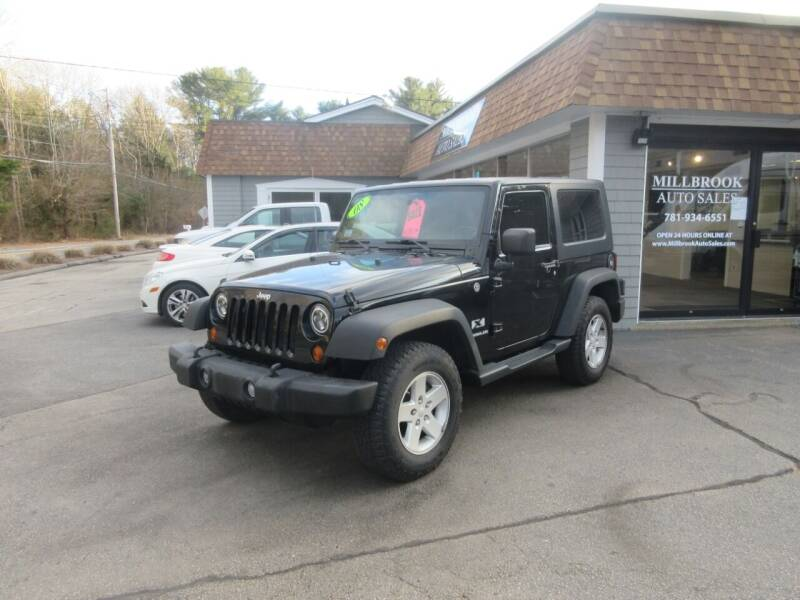 2008 Jeep Wrangler for sale at Millbrook Auto Sales in Duxbury MA