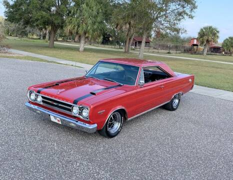 1967 Plymouth GTX for sale at P J'S AUTO WORLD-CLASSICS in Clearwater FL