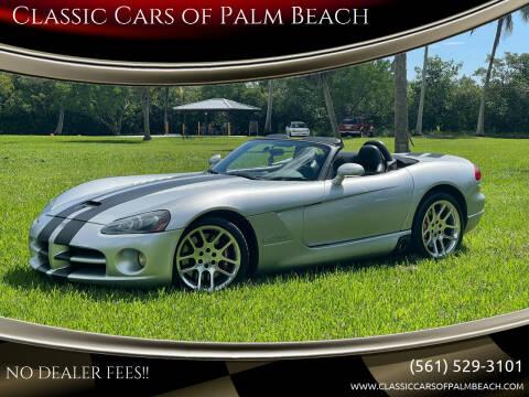 2004 Dodge Viper for sale at Classic Cars of Palm Beach in Jupiter FL