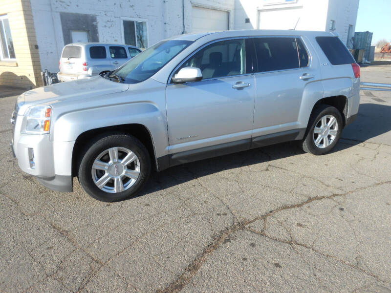 2015 GMC Terrain for sale at Salmon Automotive Inc. in Tracy MN