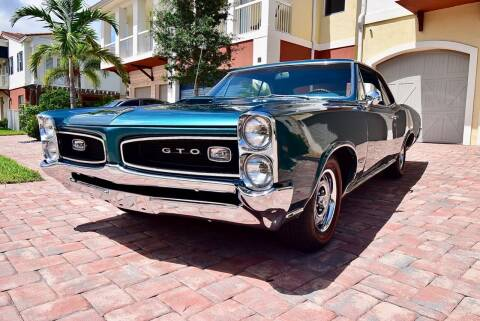 1966 Pontiac GTO for sale at Sunshine Classics, LLC in Boca Raton FL