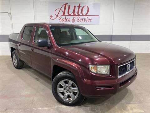 2008 Honda Ridgeline for sale at Auto Sales & Service Wholesale in Indianapolis IN