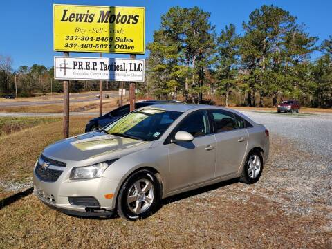 2013 Chevrolet Cruze for sale at Lewis Motors LLC in Deridder LA