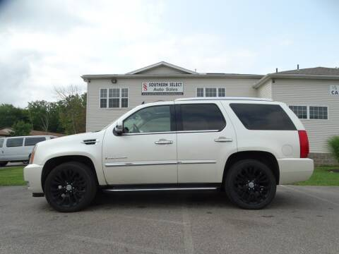 2008 Cadillac Escalade for sale at SOUTHERN SELECT AUTO SALES in Medina OH