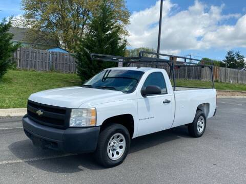 2007 Chevrolet Silverado 1500 for sale at Superior Wholesalers Inc. in Fredericksburg VA