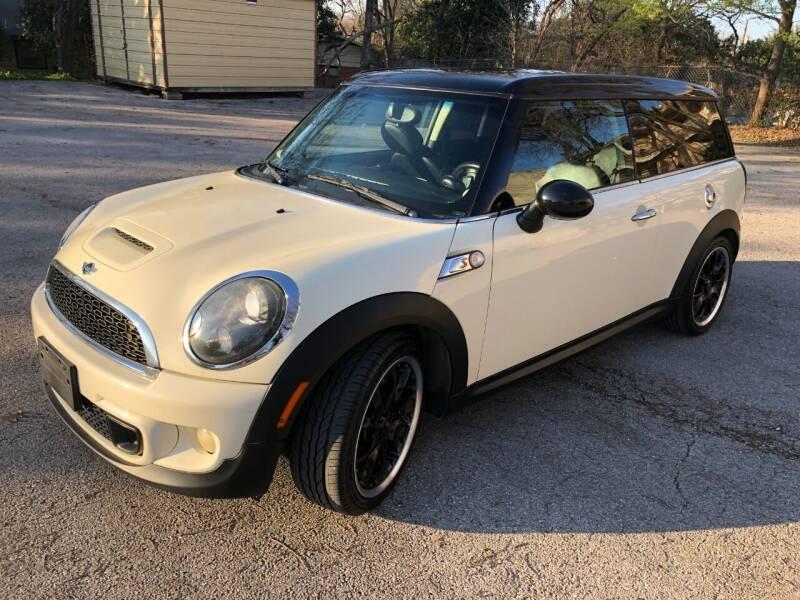 2012 MINI Cooper Clubman for sale at Guero's Auto Sales in Austin TX
