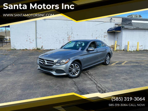 2015 Mercedes-Benz C-Class for sale at Santa Motors Inc in Rochester NY