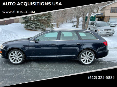 2009 Audi A6 for sale at AUTO ACQUISITIONS USA in Eden Prairie MN